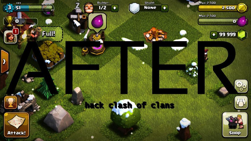 mod clash of clans apk 2017