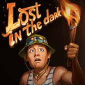 Lost in the dark icon