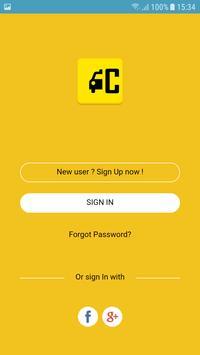 Hack Cabs Customer screenshot 1