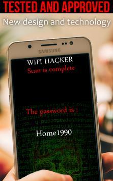 Hacker Wifi 2017 prank apk screenshot