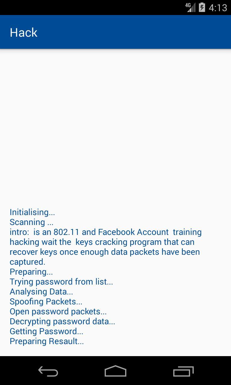 Facebook Account Hack