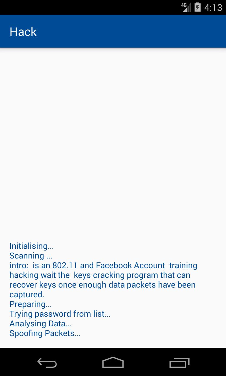 hack account facebook for Android - APK Download
