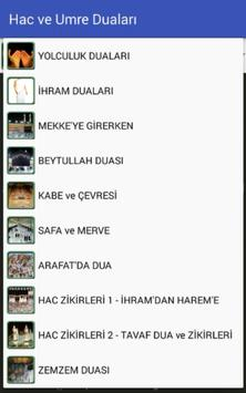 Hac ve Umre Duaları poster