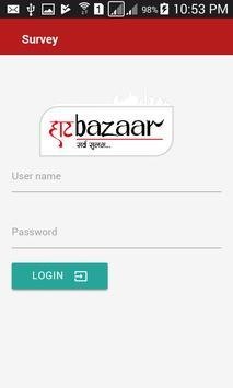 Haatbazaar Survay apk screenshot