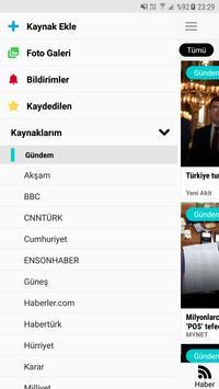 Kuzgun - You Choose News Source, Last Minute News apk screenshot