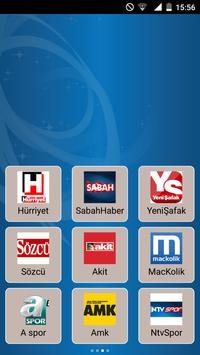 Haber Siteleri & Son Dakika apk screenshot
