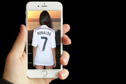 اكتب اسمك على قميص كرة القدم poster