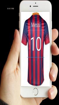 اكتب اسمك على قميص كرة القدم screenshot 1