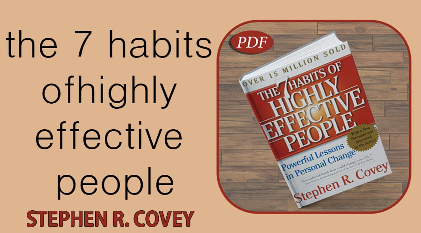 The 7 Habits Of Highly Effective People Free Pdf For Android Apk