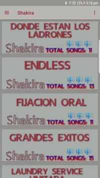 Shakira apk screenshot