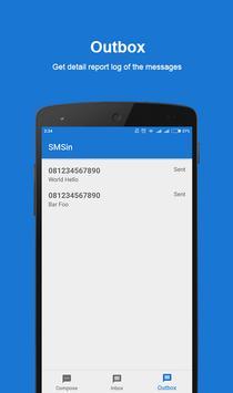 SMSin apk screenshot