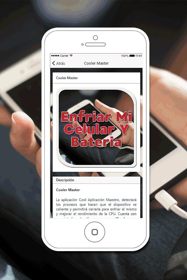 fbcef32f593 ... Enfriar mi Celular y Bateria Gratis Guía Fácil captura de pantalla 7 ...