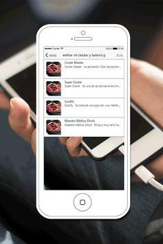 Enfriar mi Celular y Bateria Gratis Guía Fácil screenshot 1