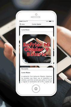 Enfriar mi Celular y Bateria Gratis Guía Fácil screenshot 2