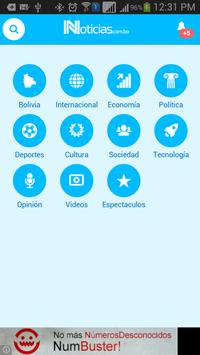 Noticias de Bolivia apk screenshot