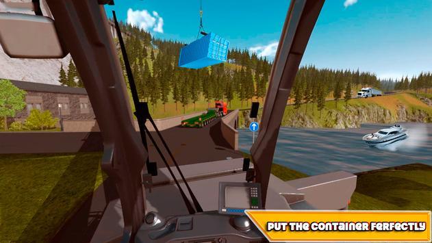 Crane Real Simulator Fun Game screenshot 1