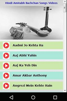 Hindi Amitabh Bachchan Songs poster