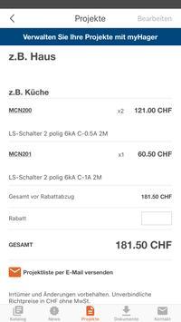 Hager e-Katalog Schweiz apk screenshot