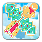 Gingerbread Match Puzzle icon