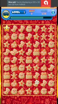 Gingerbread Match Puzzle apk screenshot