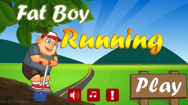 Fat Boy Running poster