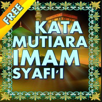 Kata Mutiara Imam Syafi'i poster
