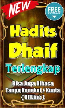 Hadits Dhaif Terlengkap poster