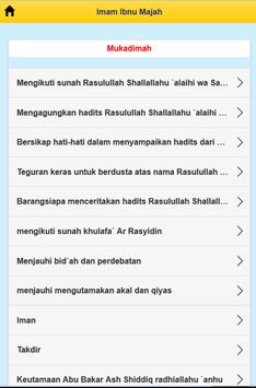 Imam Ibnu Majah screenshot 1