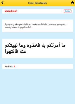 Imam Ibnu Majah apk screenshot