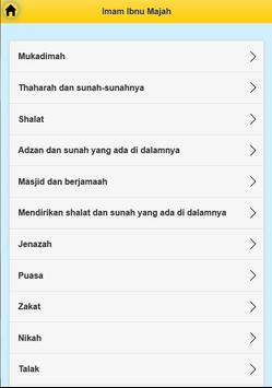 Imam Ibnu Majah screenshot 3