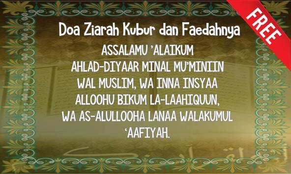 Doa Ziarah Kubur dan Faedahnya poster