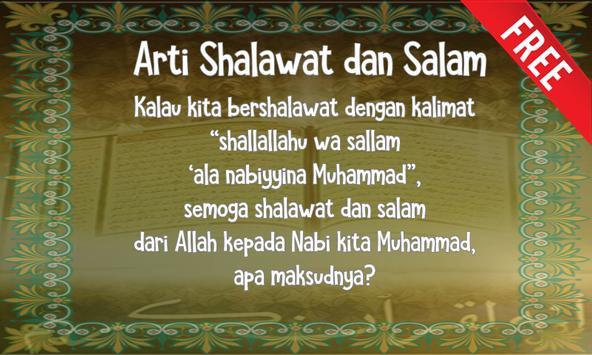 Arti Shalawat dan Salam poster