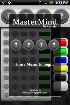 MasterMind for Android FREE poster