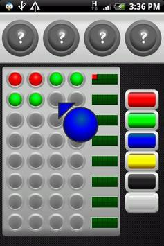 MasterMind for Android FREE apk screenshot
