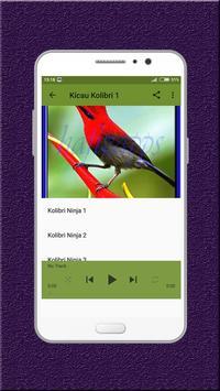 Kicau Kolibri Terbaru apk screenshot