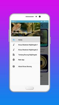Master Kicau Burung Nightingale poster