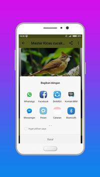 Masteran Suara Burung  Terbaru Lengkap Offline apk screenshot