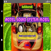 Car Sound System Model icon