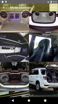 Car Sound System Model apk screenshot
