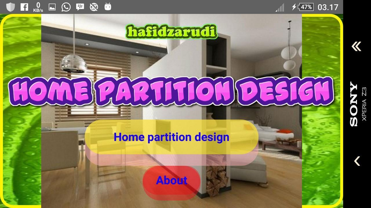Home partition design for Android - APK Download