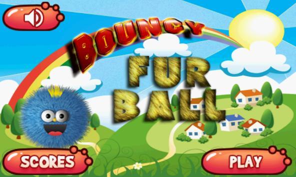Bouncy Fur Ball poster