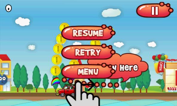 Bouncy Fur Ball screenshot 2