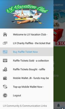 LX Vacation Raffle Club screenshot 5