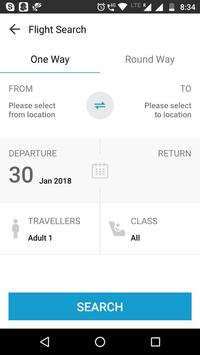 HAKA TRAVEL MOBILE screenshot 1