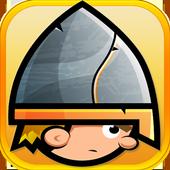 Castle Knight Run Dash Surfer icon