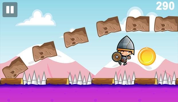 Castle Knight Run Dash Surfer poster