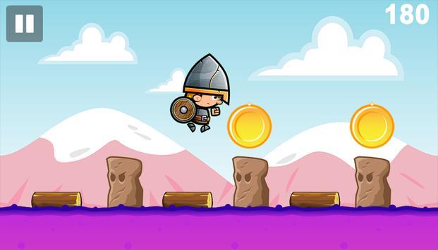 Castle Knight Run Dash Surfer screenshot 1