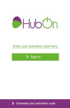 HubOn poster