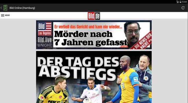 German Newspapers apk screenshot