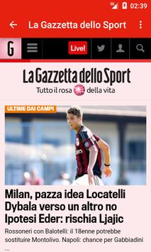 Free Italian Newspapers screenshot 13